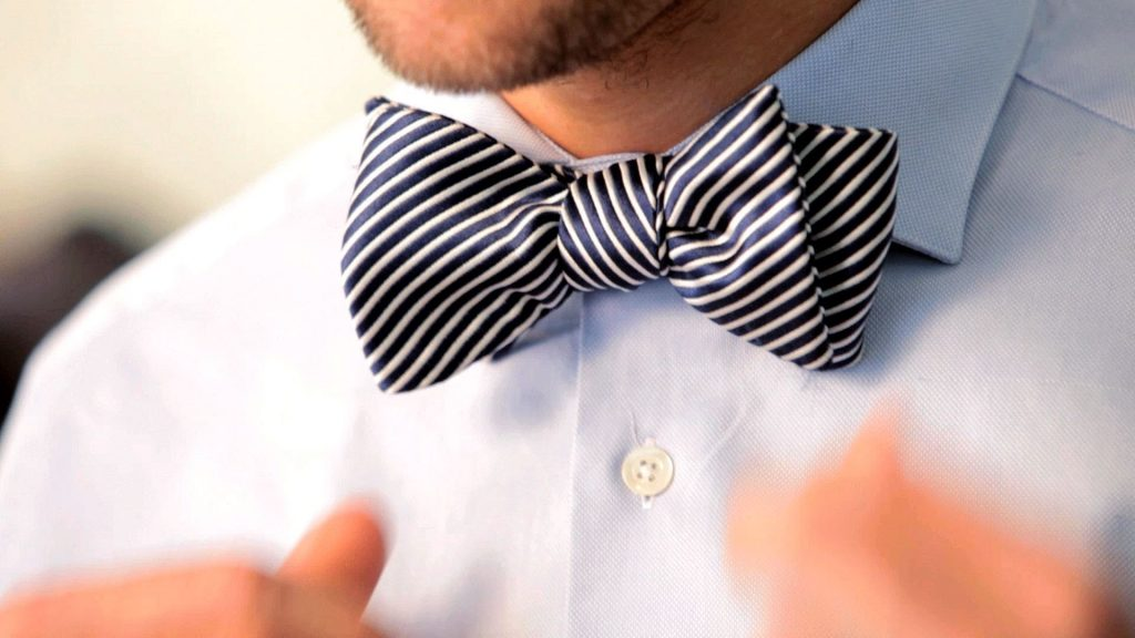 How To Make a Bow Tie Out of a Neck Tie